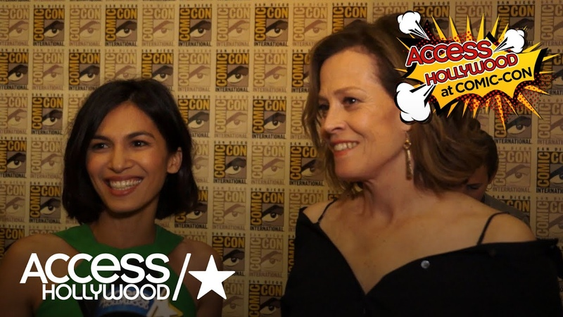 Marvels The Defenders Sigourney Weaver Elodie Yung On Their Characters Joining Forces