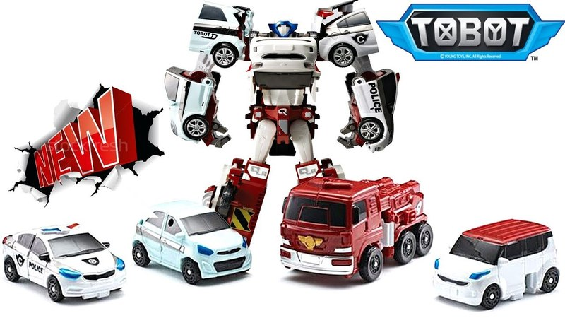 Тоботы трансформеры робот Кватран Трансформация тоботов C, D, R, W. Tobot Quadrant MrGeor игрушки