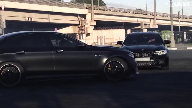 E63s Drift Moscow M5 F90