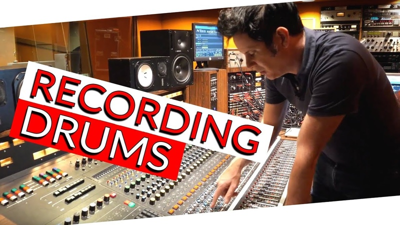 Recording Drums at the Famous Sunset Sound - Warren Huart Produce Like A Pro