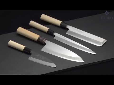 Производство и заточка ножей на заводе Tojiro