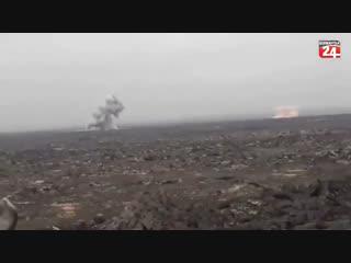 РСЗО по позициям ИГ, Аль-Сафа