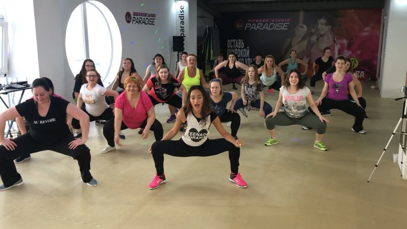 Zumba fitness Aide Надежда Смагулова