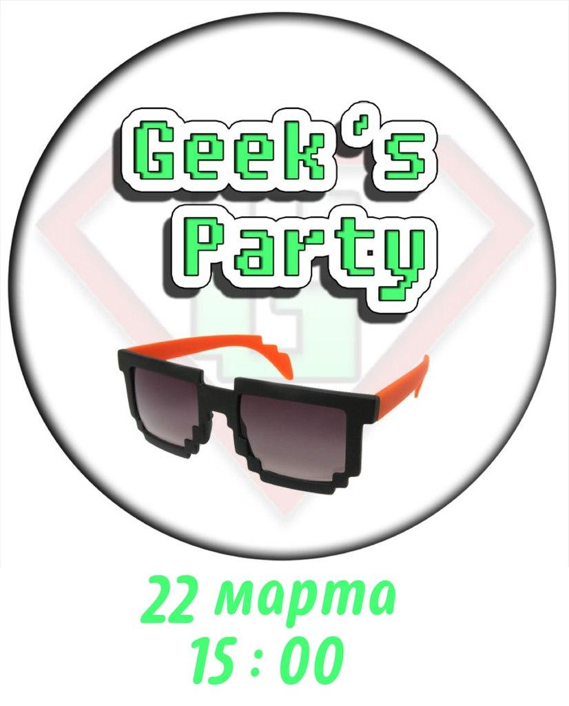 Афиша Владивосток Geek's Party VDK 22.03.15