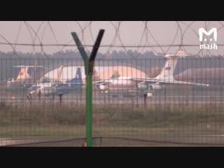 Ил-76 отправляется в Керчь