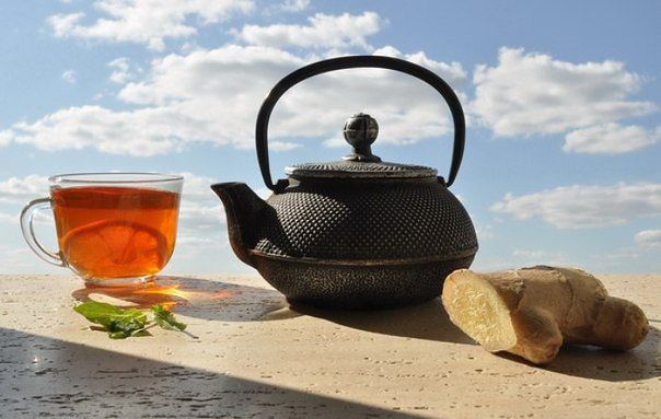 Имбирный чай. Здоровье, красота и бодрость вам обеспечены!… (1 фото) - картинка