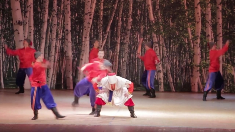 Красноярский Академический Ансамбль танца Сибири им Годенко Красный яр