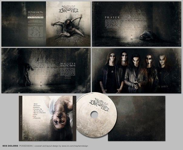 Вышел дебютный альбом NOX DOLORIS - Possession (2013)