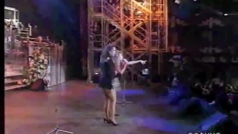 Sabrina Salerno Jo Squillo Siamo donne Sanremo 1991
