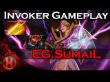 EG.SumaiL 6228 MMR Invoker Gameplay Dota 2