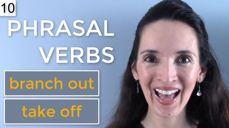 Jennifer's NEW Phrasal Verb Challenge 🌳🚀 Lesson 10: branch out, take off