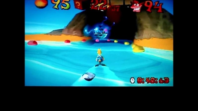 Crash Bandicoot 3 Warped NTSC J version Time Trial Makin Waves 49 23 Not Gonna Get Us