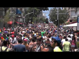 Gay pride 2014 israel Tel Aviv Гей парад Тель Авив 2014