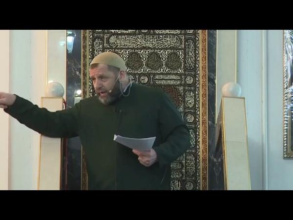 Жесткий ответ Хамзата Чумакова бывшему муфтию Хамхоеву.