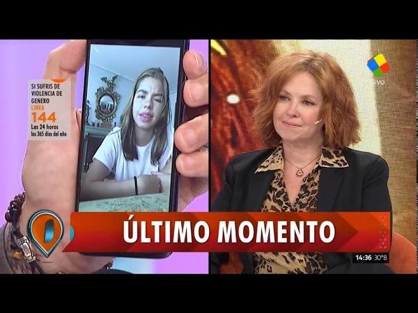 Tremendo, el fuerte testimonio de la hija de Andrea del Boca contra su padre por violencia