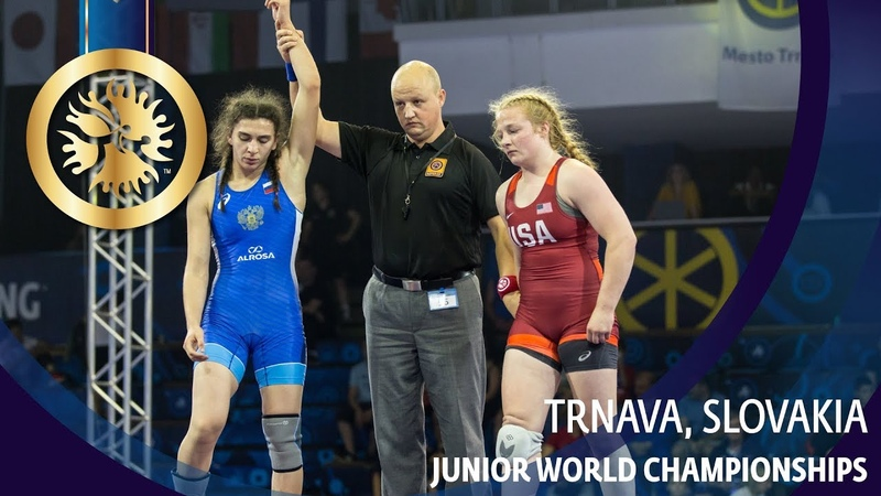 GOLD WW - 68 kg: M. KILTY (USA) v. K. VELIEVA (RUS)