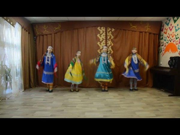 2593 Фольклорный коллектив г Ханты Мансийск хантыйский танец Северные узоры