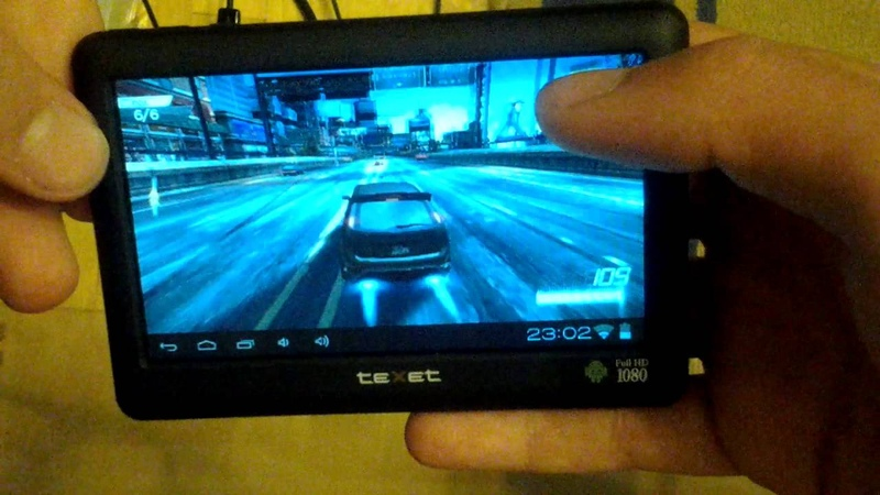 Need For Speed Most Wanted on Texet T-990A [720p] HD
