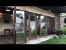 Складная алюминиевая дверь гармошка aidacha