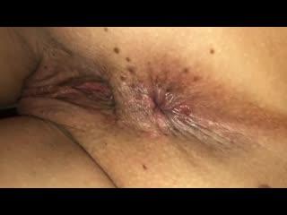 Up close anal play with ex wife