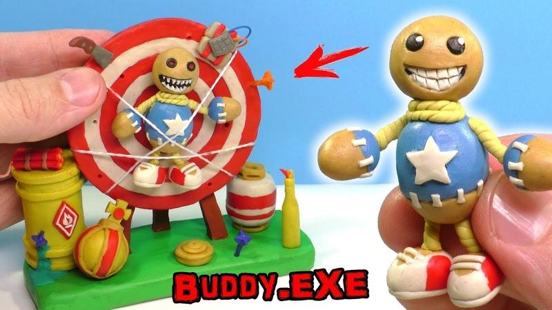 ЛЕПИМ БАДИ из игры КИК ЗЕ БАДИ | Kick the Buddy » Freewka.com - Смотреть онлайн в хорощем качестве