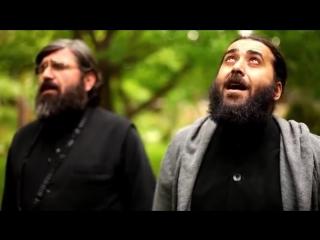 Отче наш на арамейском языке.служители церкви 13 ассирийских отцов,с.Канда,Грузи