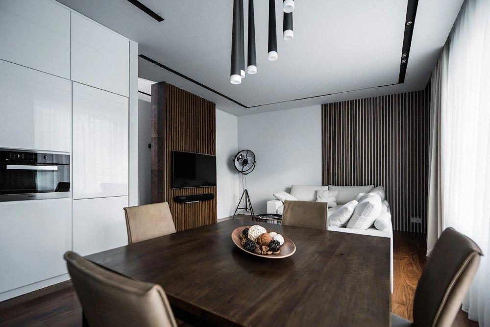 Дизайн 3 х комнатной квартиры 80 квм интерьера