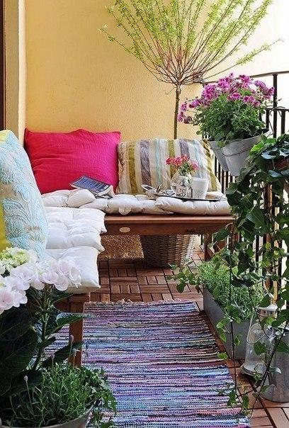 Дача на балконе: 7 шагов к загородному стилю ❤️