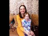 Мама и дочка. Таня и Жанна. Семья.