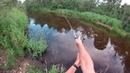 Вело рыбалка после обеда, ЭПИЗОД II ,щука, Володя 23 Яницкий, спинингатор)