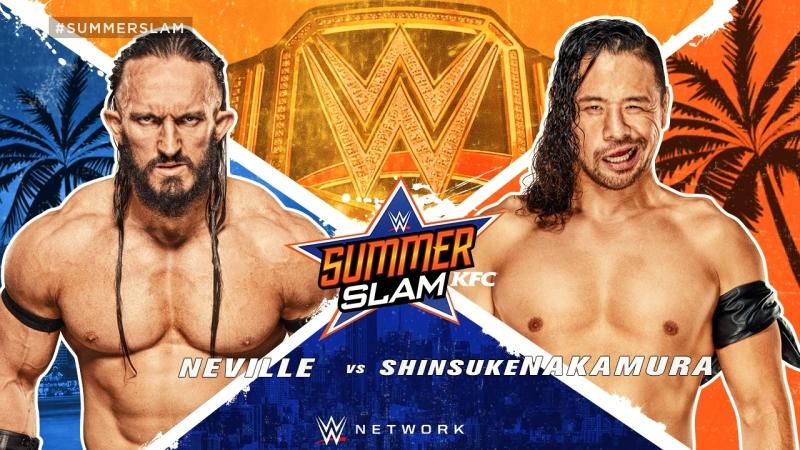 WLE CHAMPIONSHIP MATCH: Neville vs Shinsuke Nakamura