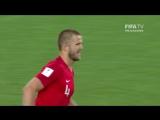 Решающий пенальти в матче Колумбия - Англия
