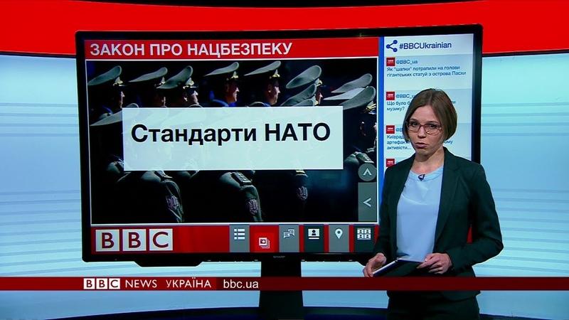 21.06.2018 Випуск новин: новий закон про нацбезпеку України