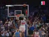 Eddy Curry's great block on Deron Williams