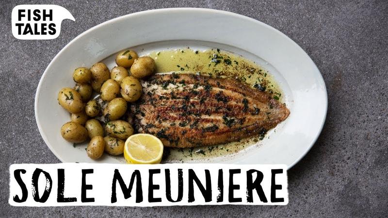 How to Pan Fry DOVER SOLE Meunière Bart van Olphen