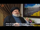 Hassan Nasrallah Israel will be more easily defeated than ISIS