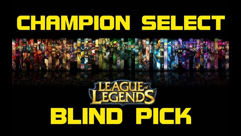 Blind Pick - Old Champion Select Music