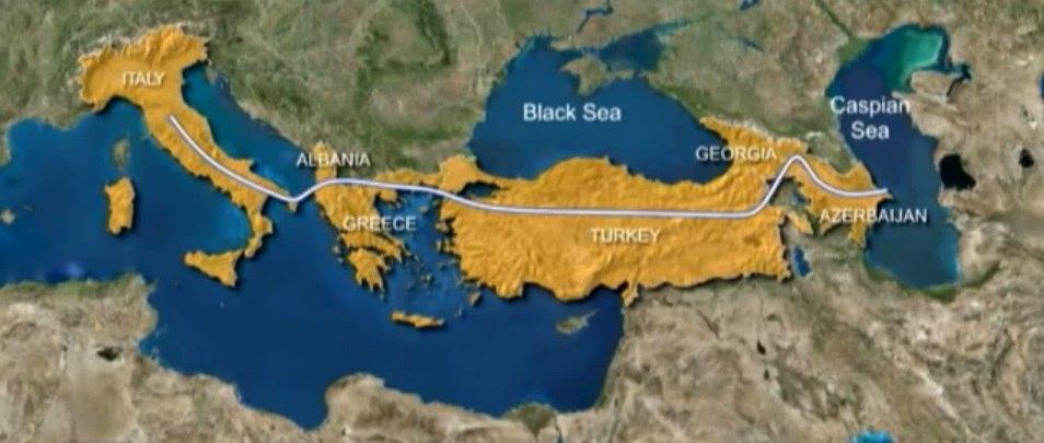 Азербайджанский газ пойдёт в Европу за 35 млрд. долларов