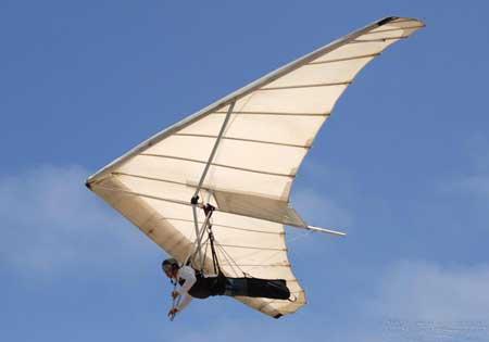 Дельтапланы и парапланы работают по тем же принципам, что и воздушные змеи.