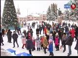 Кто сильнее, ловче и быстрее: у главной новогодней ёлки прошел спортивный праздник «Зимние забавы»