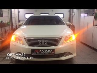 Toyota camry acv50 - дхо hpl crossfire в штатное место поворотников