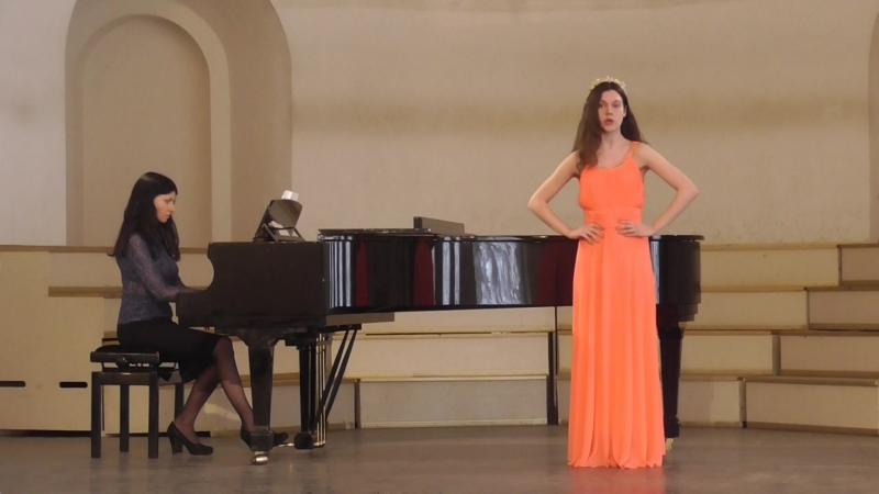 Песня Ольги из оперы Русалка