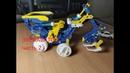 Гидравлический робот 12 в 1 Конструктор на солнечной батарее BONDIBON 2 часть