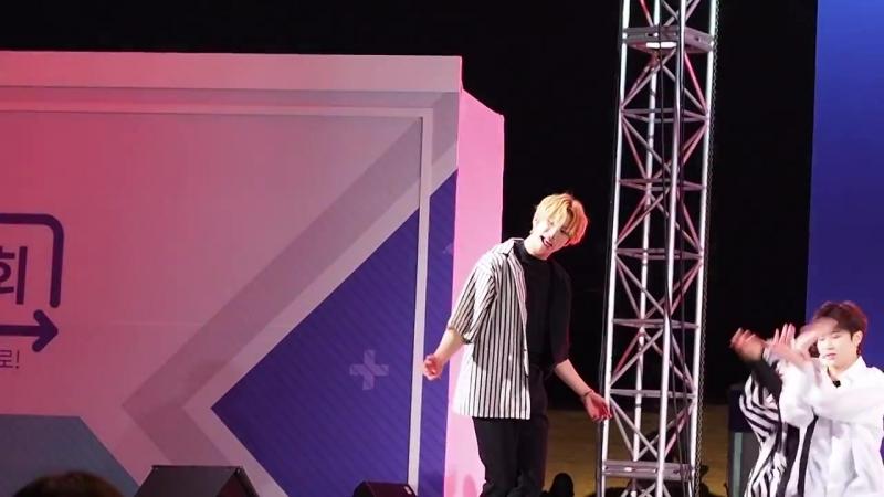 20180914 청춘해 콘서트 UNB(유앤비) JUN(준) FOCUS--끌어줘