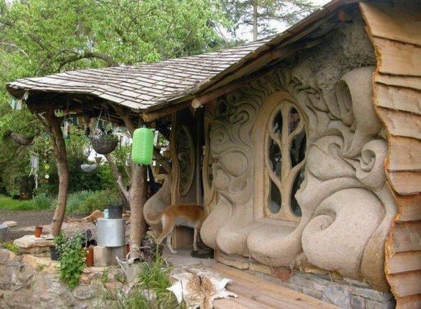 необычные бани проекты из бетона