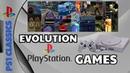 Evolution of (Playstation) PS1 Games 1995-2003