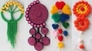 6 Easy wall hanging craft ideas with wool