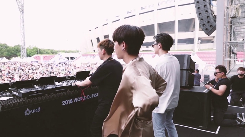 JuniorChef 주니어셰프 World DJ Festival 2018 with GroovyRoom 그루비룸 Feat HA ON 김하온 Sik K 식케이