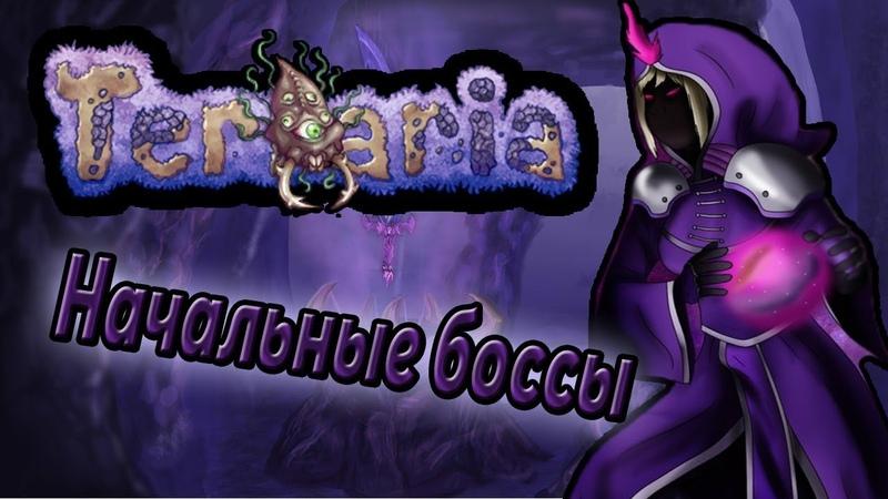 Terraria: Магические приключения Драгона на Эксперте. Глаз Ктулху и Пожиратель миров