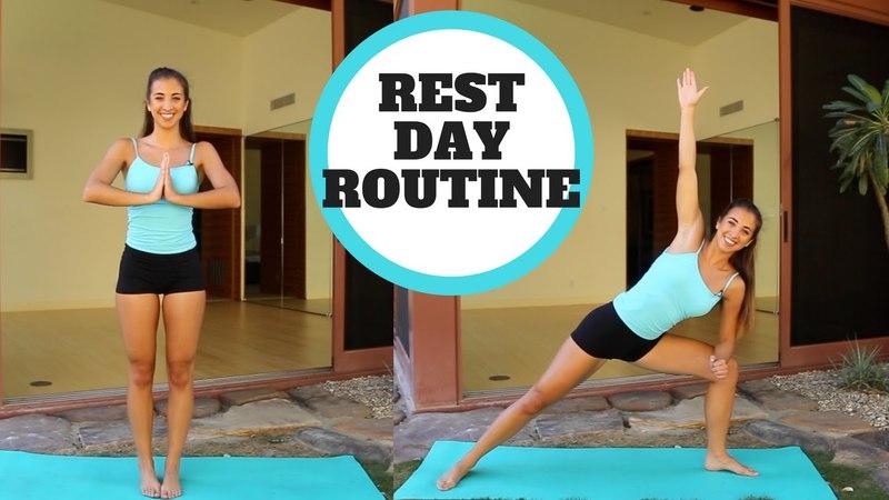 Активный отдых от тренировок - Что делать в день отдыха. What To Do On Your Rest Day | Katie Austin